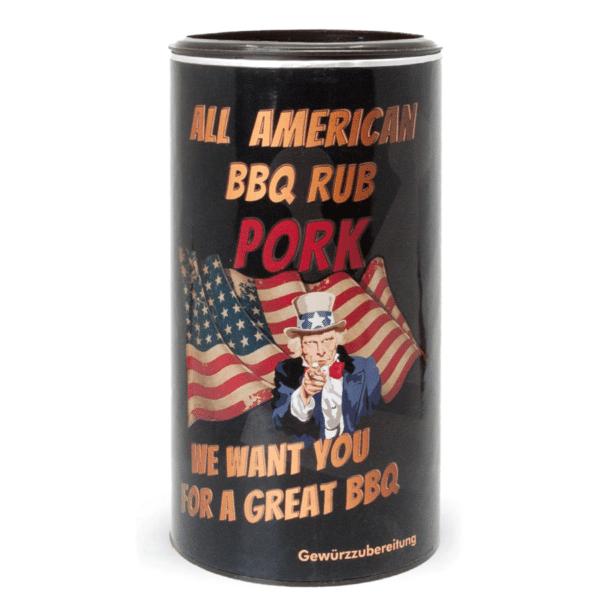 All American BBQ Rub - Pork
