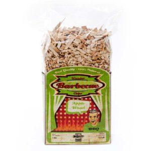 Räucher Chips aus Apfel Holz