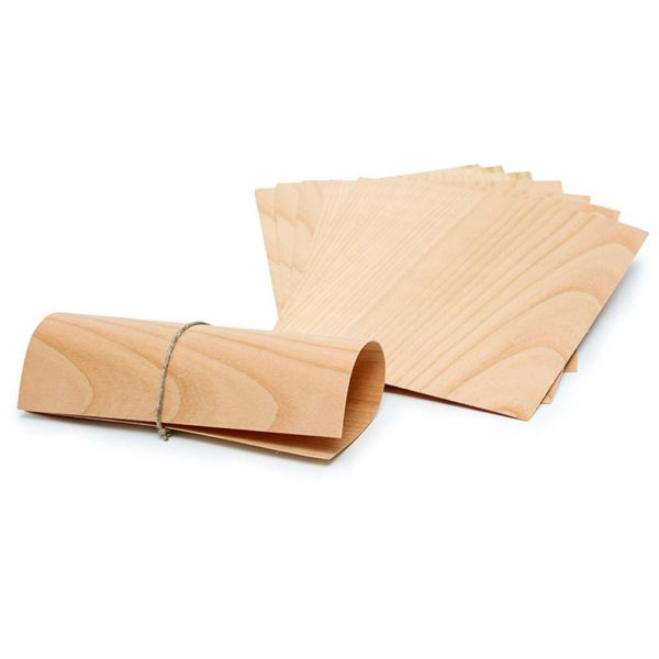 Axtschlag Wooden Papers Cherry Wood - Grillpapier Kirsche