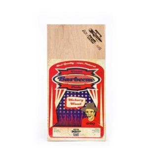 Axtschlag Grill Brett Western Red Cedar Wood - Grillbrett Hickory