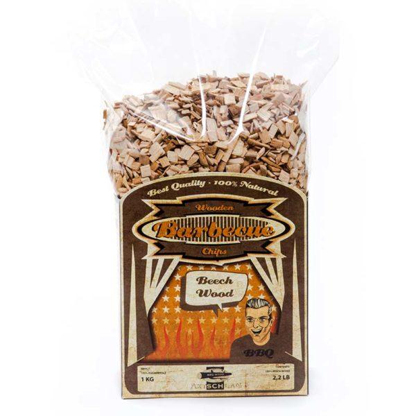 Räucher Chips aus Buchenholz