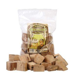 Axtschlag Wood Eichenholz Chunks (1.5kg Beutel)