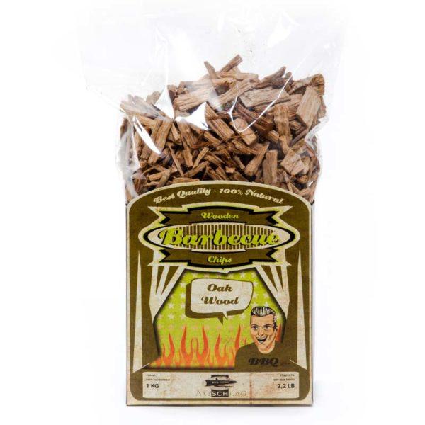 Räucherholz Chips Eiche