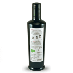 Terra Rossa Olivenöl Flasche hinten