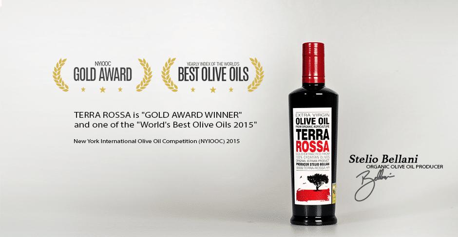 Terra Rossa Olivenöl Awards