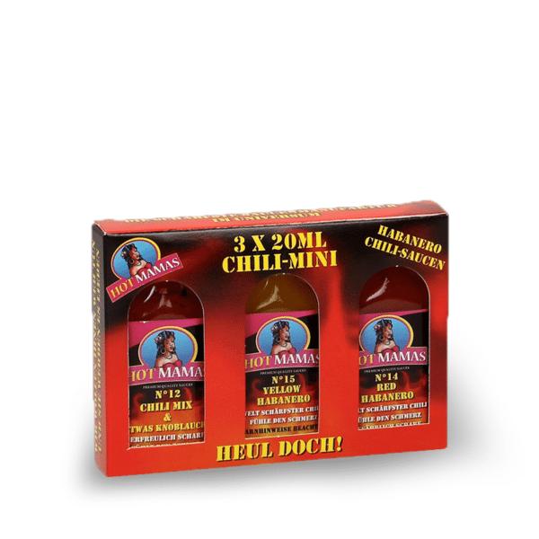 Hot Mamas Chili Mini Saucen Set