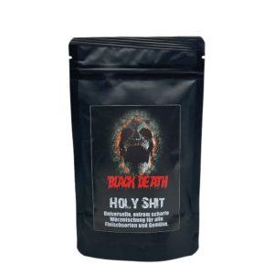 Black Death's Holy Shit ist DIE extra scharfe Würzmischung mit Raucharoma