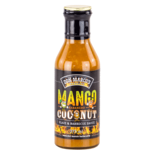 Don Marcos Mango Habanero Coconut Glaze & BBQ Sauce