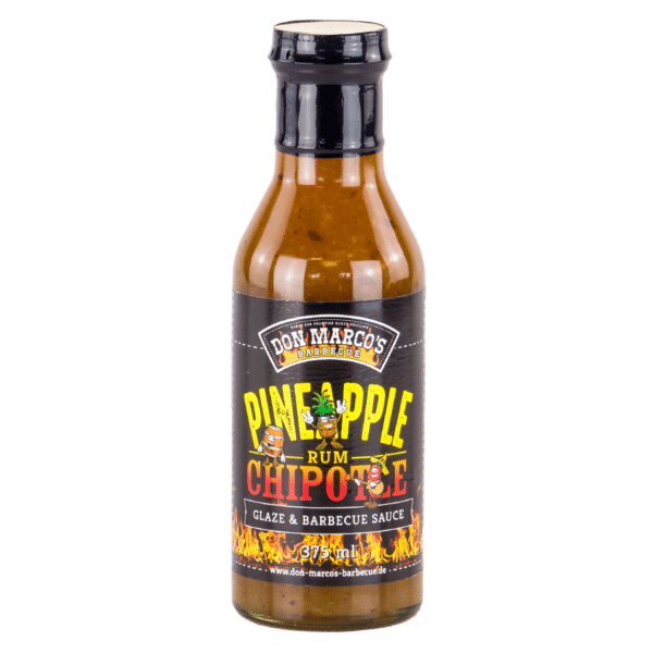 Don Marcos Pineapple Rum Chipotle Glaze & BBQ Sauce