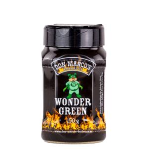 Don Marcos WonderGreen, das grüne Wunder für den Grill