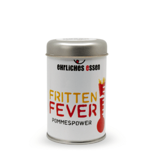 Fritten Fever, das Pommesgewürz vom Ehrlichen Essen