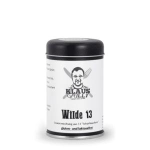Wilde 13 von Klaus Grillt mit 13 Scharfmachern