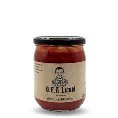 O.F.A Liquid Sauce von Klaus Grillt