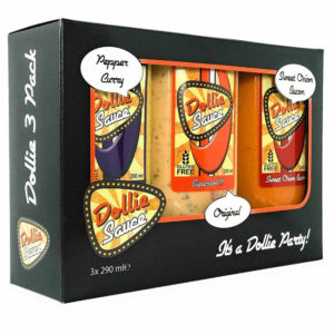 Dollie Sauce 3er Geschenk Set Special Edition