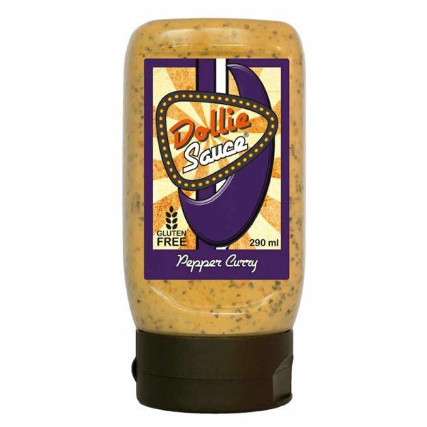 Pepper Curry Dollie Sauce, superdoll mit würzigem Curry