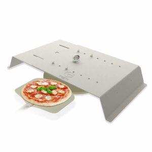 PizzaCover Flex, der variable Gasgrill Pizzaaufsatz