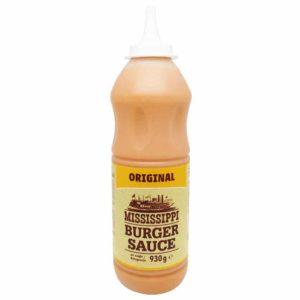 Mississippi Burger Sauce Original (XL Dosierflasche 855gr)