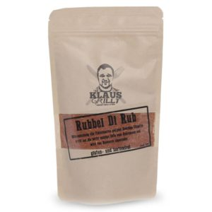 Rubbel di Rub, leichte Rauchnote für alle Fleischarten