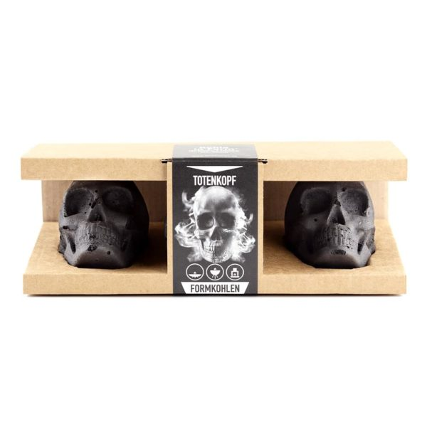 Totenkopf Kohle Verpackung