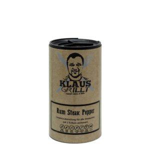 Rum Steak Pepper von Klaus Grillt mit echtem Rum
