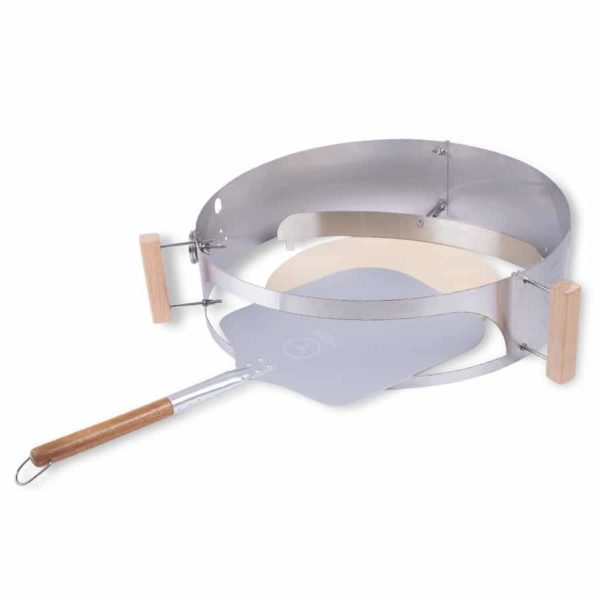 Smokin' PizzaRing - Pizza Set für 57cm Kugelgrills