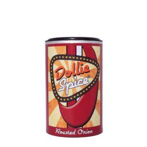 Dollie Spice Roasted Onion, das sind geröstete Zwiebeln, fruchtige Paprika mit Tomate und einer gewissen Säure. Wie gemacht für Schweinefleisch, Hackfleisch- und Kartoffelgerichte sowie Gemüse!