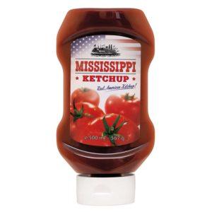 Mississippi Ketchup bringt dem Geschmack von USA Ketchup in Deine Küche
