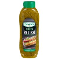 Gurken Relish, perfektes Topping für Hotdogs, Burger etc.