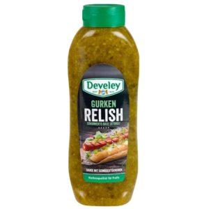 Gurken Relish, perfektes Topping für Hotdogs, Burger etc.