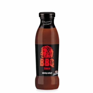 Löwensenf BBQ Sauce, lass den Löwen brüllen