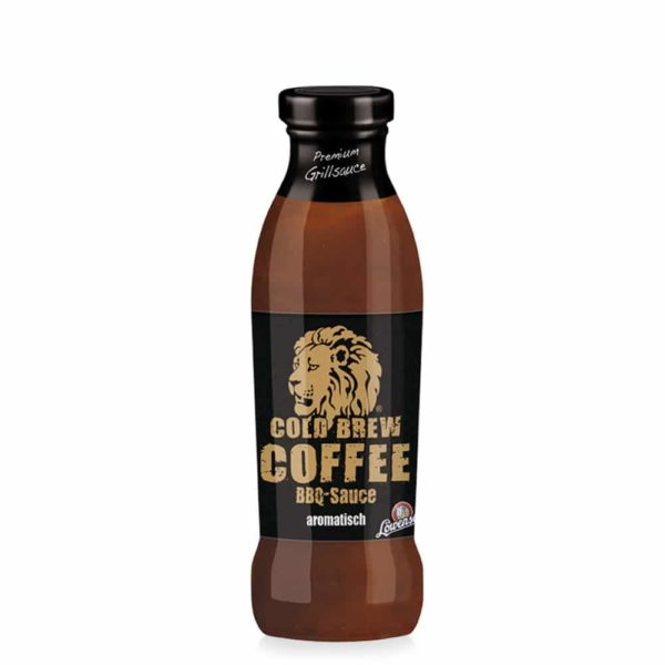 Cold Brew Coffee BBQ Sauce (Löwensenf) mit 19% Kaffee