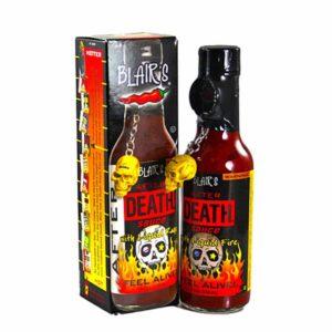 Blairs After Death Sauce inkl. Totenkopf Anhänger