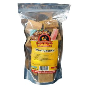 Kirsch Holz Chunks (1kg), im wiederverschliessbaren Beutel