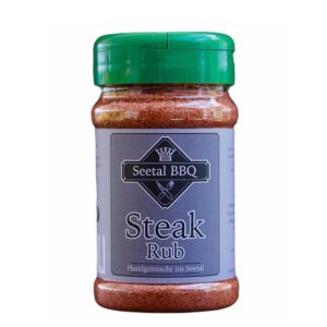 Steak Rub von Seetal BBQ - Made in Switzerland