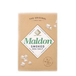 Das Maldon Smoked Sea Salt aus englischer Salzsiedekunst