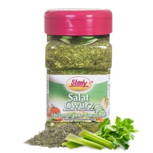 Stedy Salat Gwürz für geniale Salatsaucen und simple Dips