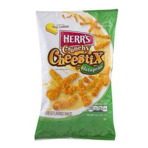 Herr's Crunchy Jalapeno Cheestyx