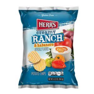 Herr's Creamy Ranch and Habanero